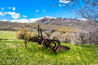 Horse Drawn Plow-1